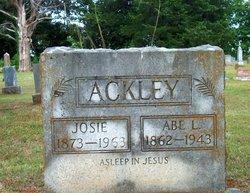 Josephine Josie <i>Nicely</i> Ackley