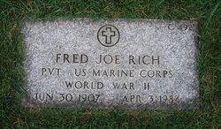 Fred Joe Rich