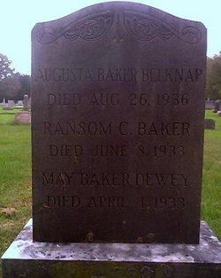 May <i>Baker</i> Dewey