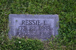 Ressie I <i>Scarborough</i> Megee
