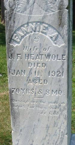 Frances Alice <i>Rhodes</i> Heatwole