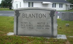 Mattie Jane <i>Cannon</i> Blanton