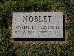 Fayette Ira Fay Noblet