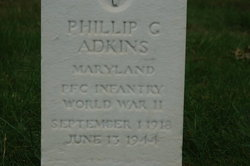 PFC Phillip G Adkins