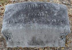Hulda <i>Schmidt</i> Koehn
