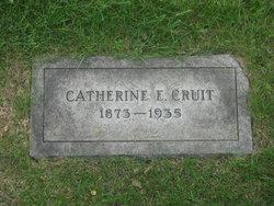 Catherine Emily <i>Angel</i> Cruit