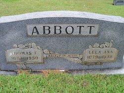 Lela Ann <i>Aden</i> Abbott