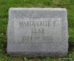 Marguerite E <i>Confer</i> Lear