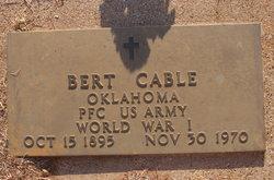 Bert Tanisahi Cable, Sr