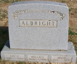 Mary Olive <i>Jones</i> Albright
