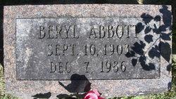 Beryl <i>King</i> Abbott