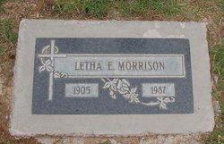Letha Esther Morrison