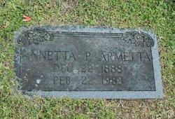 Annetta P. Armetta