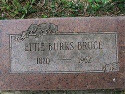 Etta Emma <i>Burks</i> Bruce
