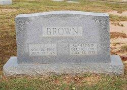 Isaac T Brown