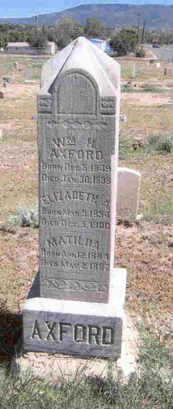 William H Axford