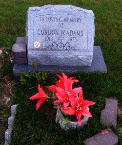 Gordon W Adams