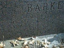 Sarah E. <i>Hudson</i> Barker