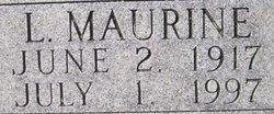 Luda Maurine <i>McClure</i> Bilger