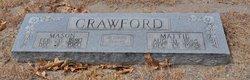 Mattie <i>Hearn</i> Crawford