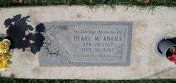 Pearl M. Adams