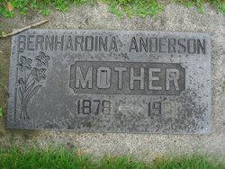 Bernhardina Anderson