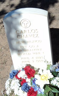 Pvt Carlos Chavez