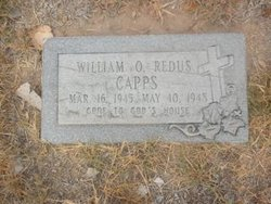 William Otis <i>Redus</i> Capps