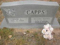 Willene Brown <i>Redus</i> Capps