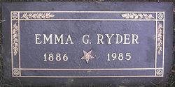 Emma G <i>Albers</i> Ryder