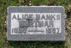 Alice <i>Banks</i> Wortman