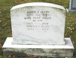 Mary Olive <i>Drake</i> Allen