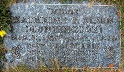 Kathrine B <i>Huntington</i> Olsen