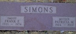 Patricia Jean <i>McKinney</i> Simons