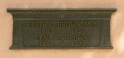 Elvin Ottis Brown, M.D.