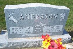 Alverda M Bert <i>Wilson</i> Anderson