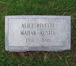 Alice <i>Rivette</i> Austin