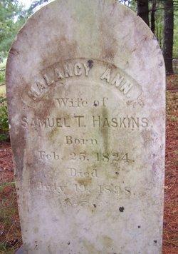 Malancy Ann <i>Staples</i> Haskins