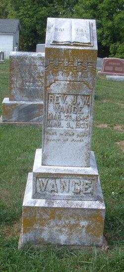 Rev Joseph William Vance