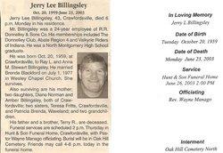 Jerry Lee Billingsley