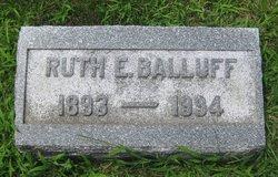 Ruth Elizabeth Balluff