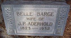 Belle <i>Barge</i> Aderhold