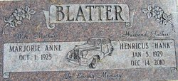 Henricus Hank Blatter