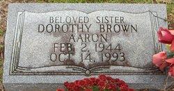 Dorothy <i>Brown</i> Aaron