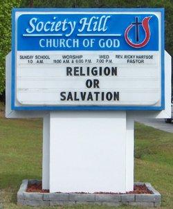 Society Hill Church Of God Cemetery