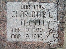 Charlotte L Nelson