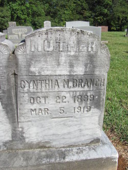 Cynthia Malinda <i>Eppley</i> Branch