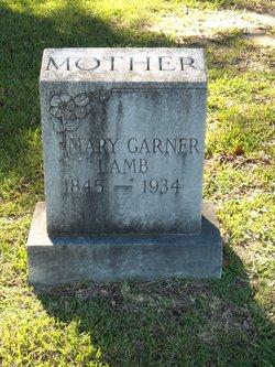 Mary J. <i>Garner</i> Lamb