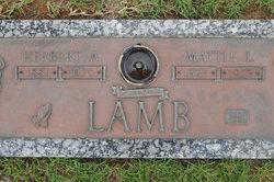 Herbert Ashley Lamb