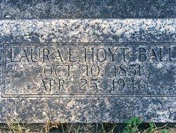 Laura Eleanor <i>Hoyt</i> Ball